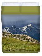 Marmot Meadow Duvet Cover