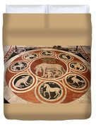 Marple Floor - Cathedral Siena Duvet Cover