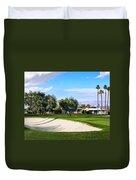Marrakesh Golf Palm Springs Duvet Cover