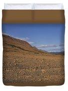 Mars On Earth Duvet Cover