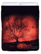 Mars Tree Duvet Cover