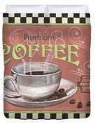 Marsala Coffee 2 Duvet Cover by Debbie DeWitt
