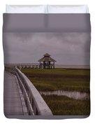Marsh Boardwalk Duvet Cover
