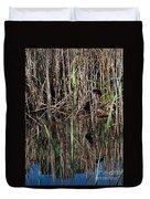 Marsh Dwellers Duvet Cover