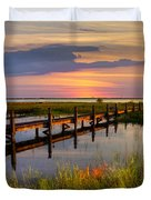 Marsh Harbor Duvet Cover