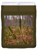 Marsh Labrador Tea After Winter Duvet Cover