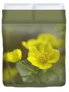 Marsh Marigolds Duvet Cover