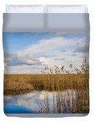 Marsh Reed Duvet Cover