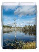 Marsh Reflections Duvet Cover