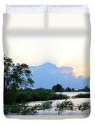 Marsh-set Duvet Cover