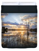 Marsh Sunrise Duvet Cover