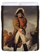 Marshal Michel Ney 1769-1815 Duke Of Elchingen Oil On Canvas Duvet Cover