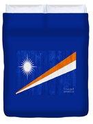 Marshall Islands Flag Duvet Cover