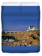 Marshall Point Lighthouse Complex Duvet Cover