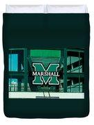 Marshall University Duvet Cover
