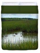 Marshlands Around Hilton Head Island Duvet Cover