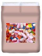 Marshmallow Duvet Cover
