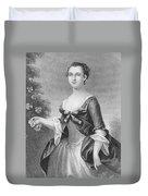 Martha Washington (1732-1801) Duvet Cover