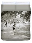 Martial Art Duvet Cover