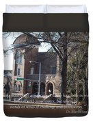 Martin Luther King Jr. And Sixteenth Street Baptist Church Duvet Cover