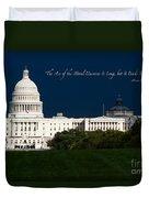 Martin Luther King Jr. Duvet Cover