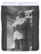 Martin Luther King Jr. Memorial - Washington D.c. Duvet Cover by Mike McGlothlen