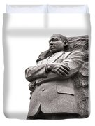 Martin Luther King Memorial Statue Duvet Cover