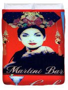 Martini Bar Duvet Cover