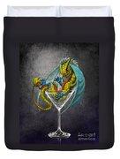Martini Dragon Duvet Cover