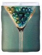 Martini Glass Duvet Cover