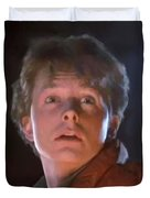 Marty Mcfly Duvet Cover