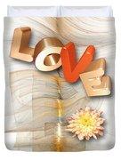 Marucii 277-07-13 Love Duvet Cover