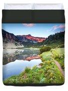 Marvelous Lake Duvet Cover