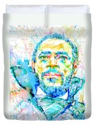Marvin Gaye - Portrait Duvet Cover