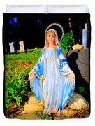 Mary In Sunlight Duvet Cover
