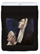 Mary Magdalene Duvet Cover