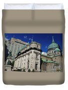 Mary Queen Of The World Cathedral Montreal Duvet Cover