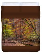 Maryland Country Roads - Autumn Colorfest No. 8 - Catoctin Mountains Frederick County Md Duvet Cover