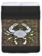 Maryland Country Roads - Camo Crabby 1a Duvet Cover
