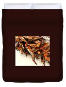 Maryland Crabs Duvet Cover