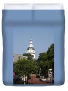 Maryland State House Cupola Duvet Cover
