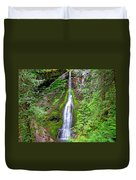 Marymere Falls - Full View Duvet Cover