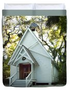 Mary's Chapel Duvet Cover