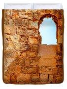 Masada Fortress Duvet Cover