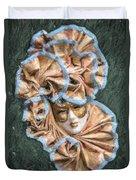 Maschera Di Carnevale Duvet Cover