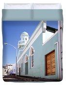 Masjid Boorhaanol Bo Kaap Duvet Cover