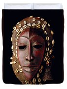 Mask From Ivory Coast Duvet Cover