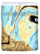 Masked- Man Abstract Duvet Cover