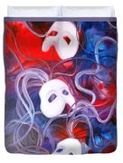 Masks 4 Duvet Cover