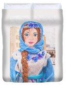 Maslenitsa Dolls 8. Russia Duvet Cover